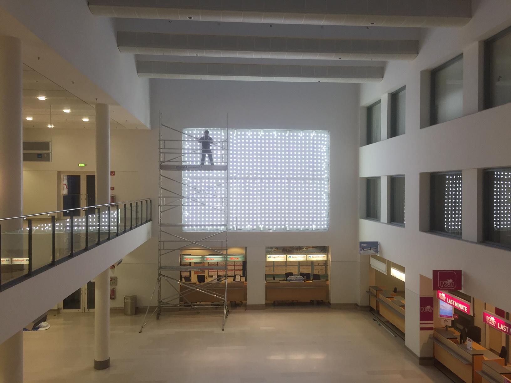 LED Leuchkasten 5m x 7m